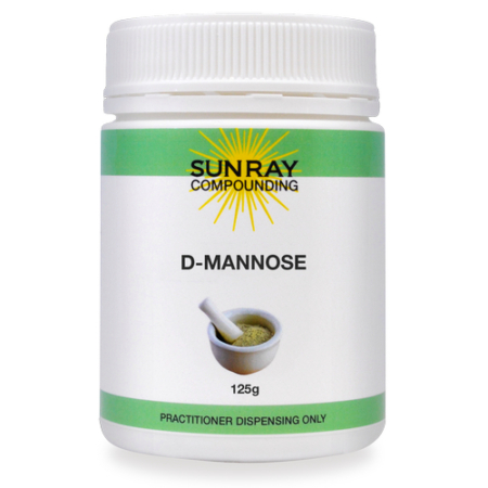 Sunray Compounding D-Mannose 125g