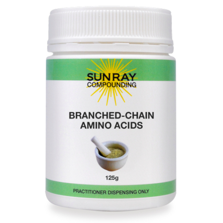 Sunray Compounding Branched-Chain Amino Acid 125g