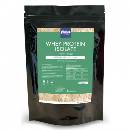 Wonder Foods Whey Protein Isolate 1kg
